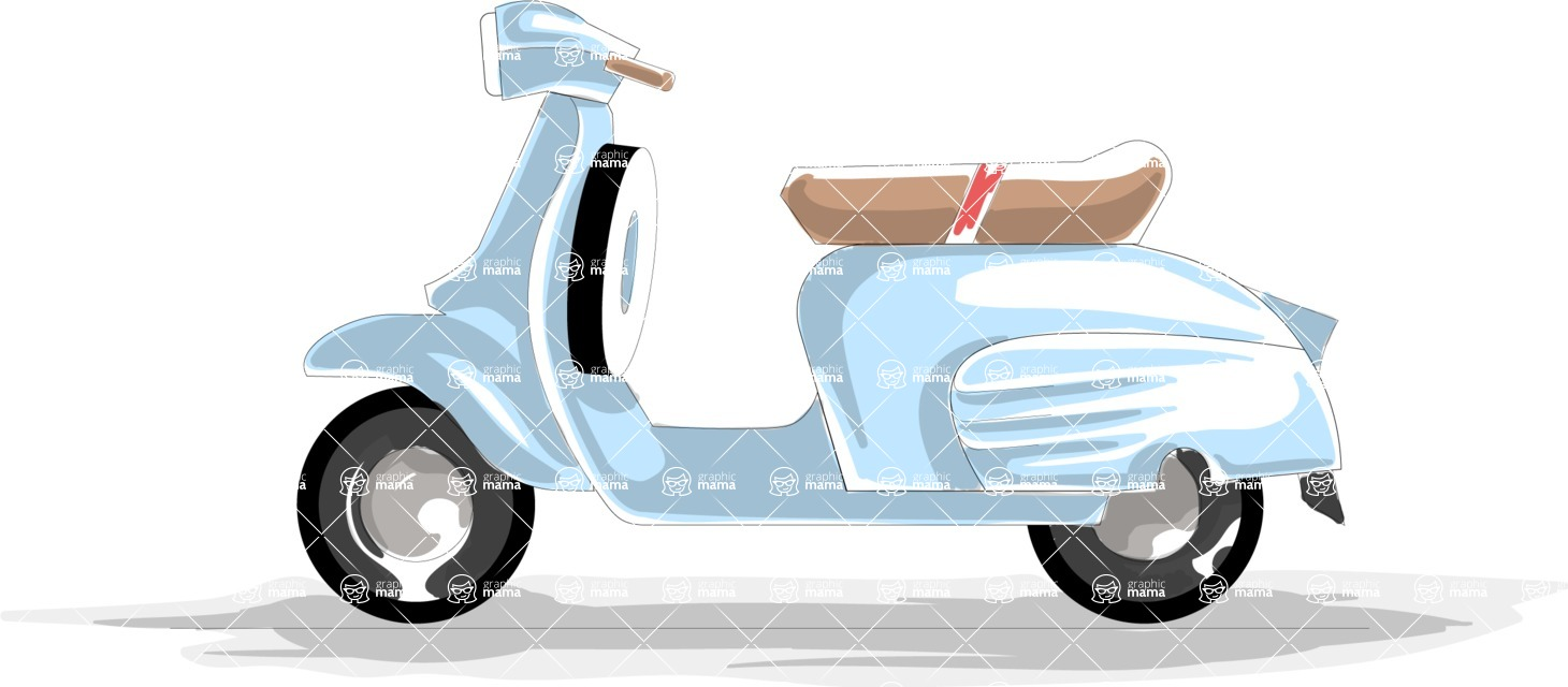 Italy Themed Graphic Collection - Transport 13