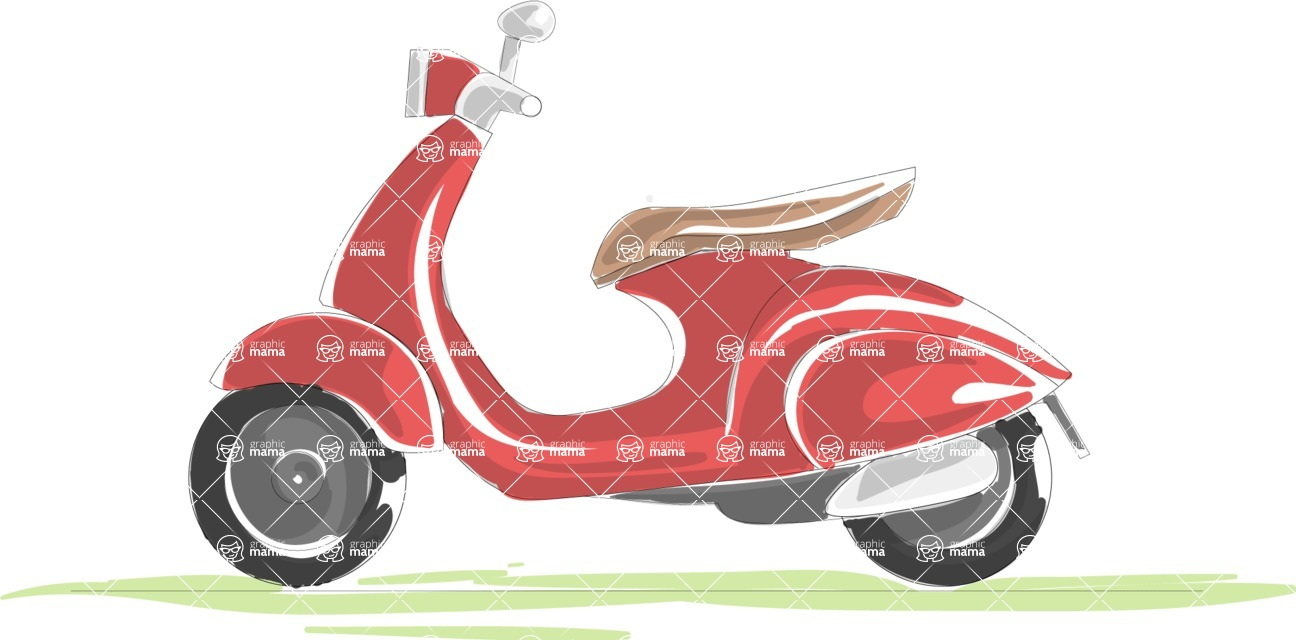 Italy Themed Graphic Collection - Transport 16