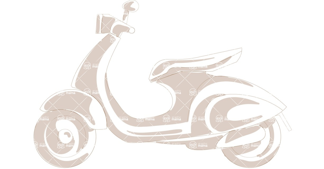Italy Themed Graphic Collection - Transport 17