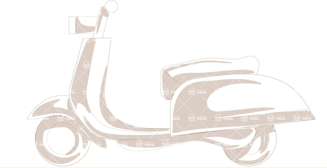 Italy Themed Graphic Collection - Transport 20