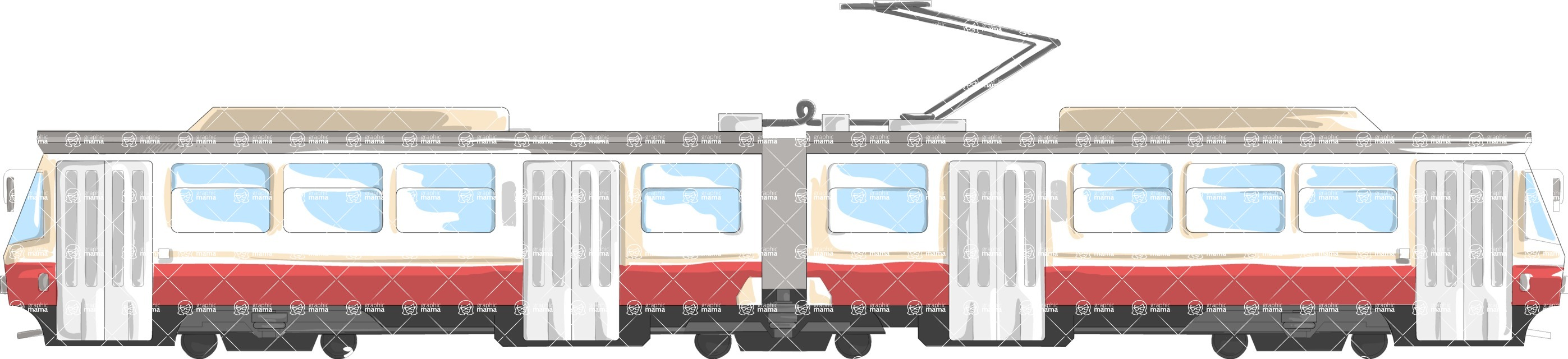 Italy Themed Graphic Collection - Transport 40
