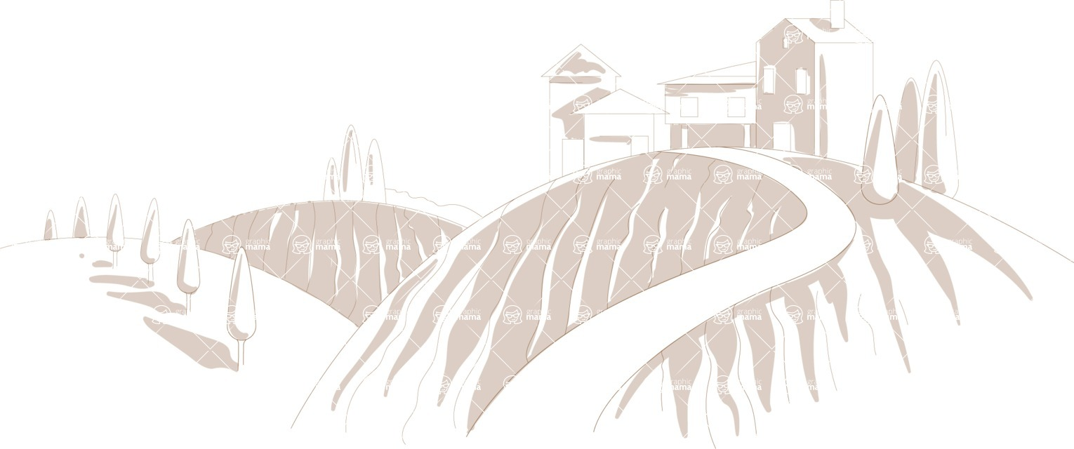Italy Themed Graphic Collection - Landscape 11