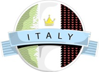 Italy Themed Graphic Collection - Made in Italy Vector Badge