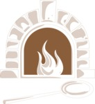 Italy Themed Graphic Collection - Pizza Oven Illustration