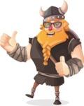 Viking Torhild the Brave - Sunglasses