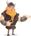 Big Male Viking Cartoon Vector Character AKA Torhild the Brave - Showcase