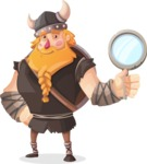 Big Male Viking Cartoon Vector Character AKA Torhild the Brave - Search