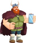 Bjorn Strong the Viking - Smartphone