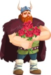 Bjorn Strong the Viking - Roses