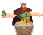 Bjorn Strong the Viking - Treasure chest 1