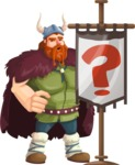 Bjorn Strong the Viking - Question mark