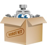 Vintage Robot Cartoon Vector Character AKA Bolty - Box