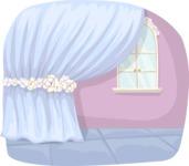 Draped Curtain Backdrop