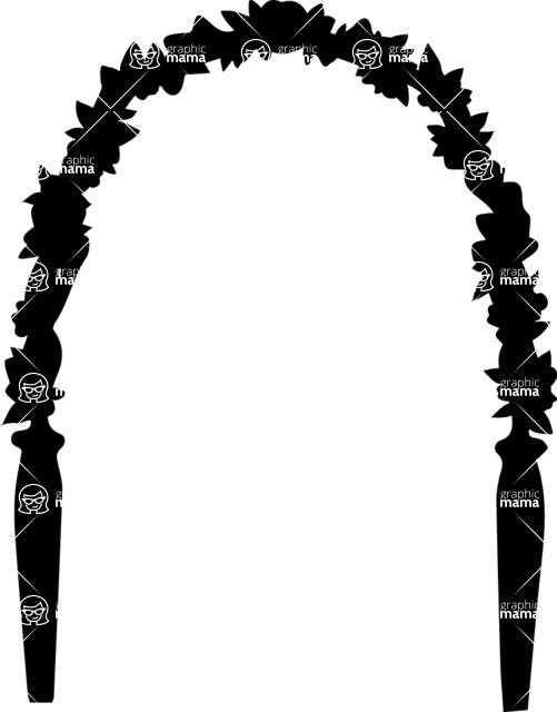 Wedding Vectors - Mega Bundle - Wedding Arch 6