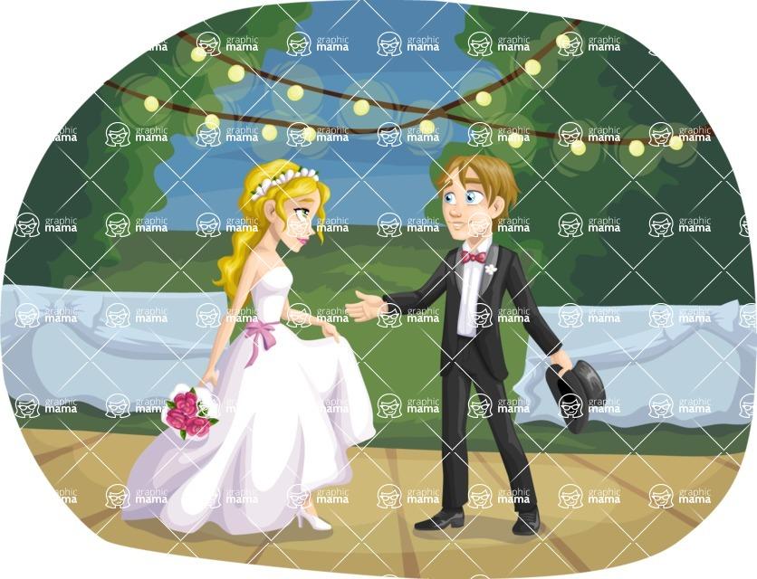 Wedding Vectors - Mega Bundle - Bride and Groom First Dance