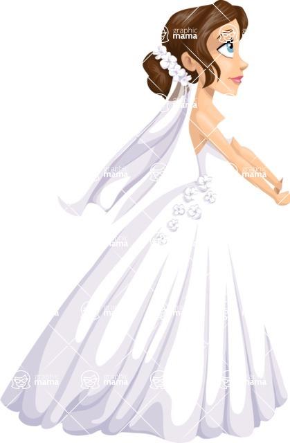 Wedding Vectors - Mega Bundle - Bride at the Altar