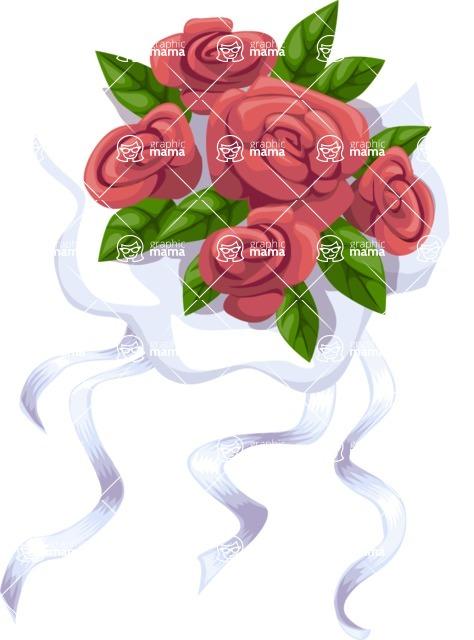 Wedding Vectors - Mega Bundle - Wedding Bouquet 2