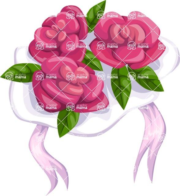 Wedding Vectors - Mega Bundle - Wedding Bouquet 5