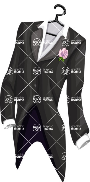 Wedding Vectors - Mega Bundle - Groom Tailcoat