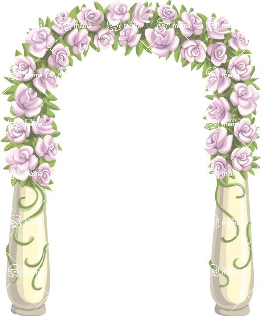 Wedding Vectors - Mega Bundle - Altar Arch