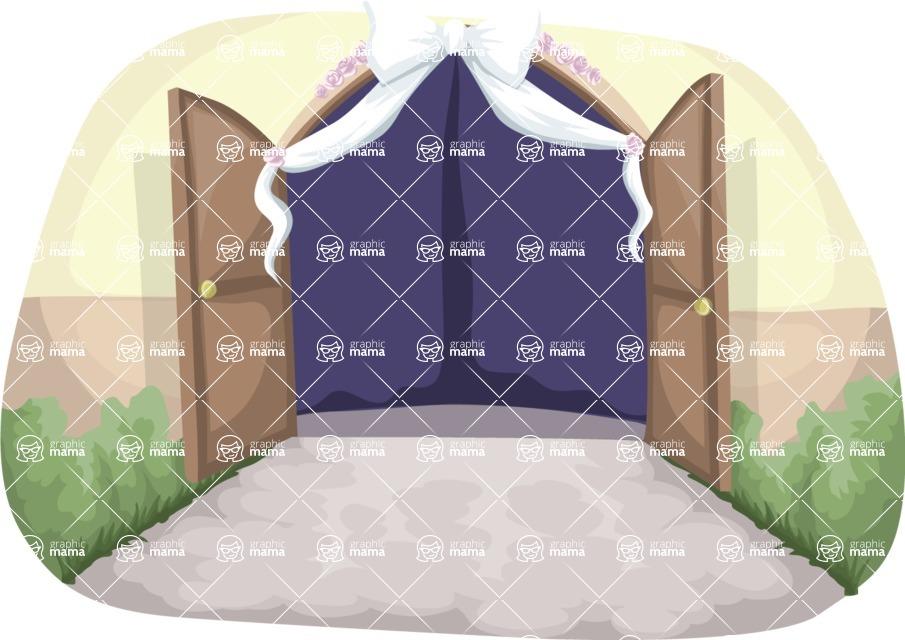 Wedding Vectors - Mega Bundle - Wedding Gates