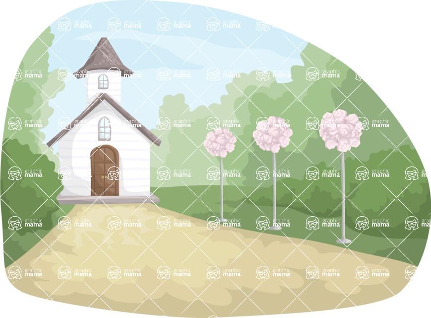 Wedding Vectors - Mega Bundle - Wedding Church