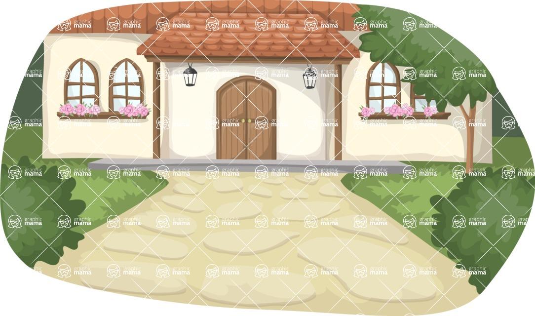 Wedding Vectors - Mega Bundle - Country House