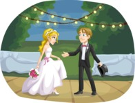 Wedding Vectors - Mega Bundle - Bride and Groom First Dance