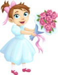 Wedding Vectors - Mega Bundle - Wedding Flower Girl