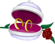Wedding Vectors - Mega Bundle - Wedding Ring Box