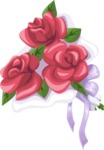 Wedding Vectors - Mega Bundle - Wedding Bouquet 7