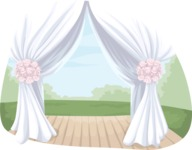 Wedding Vectors - Mega Bundle - Wedding Canopy