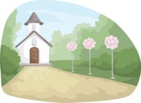 Wedding Vectors - Mega Bundle - Wedding Church