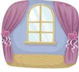 Wedding Vectors - Mega Bundle - Hall With Arched Window