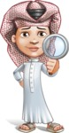 Little Muslim Boy Cartoon Vector Character AKA Nabil - Search