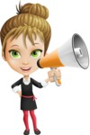 Kate in Businessland - Loudspeaker