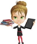 Kate in Businessland - Book and iPad