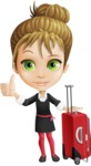 Kate in Businessland - Travel1