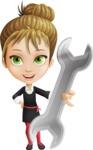 Kate in Businessland - Repair