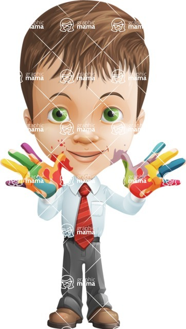 Alvin the Excellent - Colored Hands