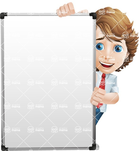 boy cartoon character vector pack - Mark - GraphicMama's bestseller - Presentation6