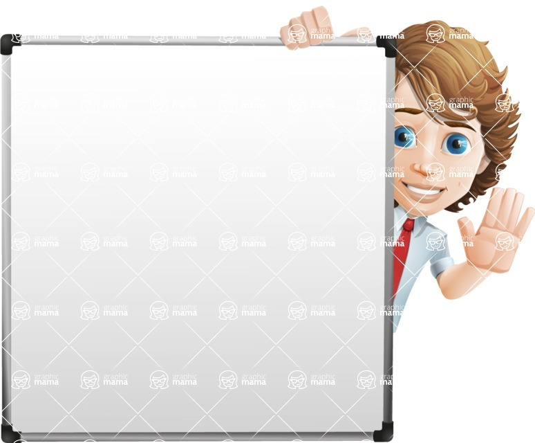boy cartoon character vector pack - Mark - GraphicMama's bestseller - Presentation7