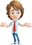 boy cartoon character vector pack - Mark - GraphicMama's bestseller - Lost