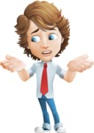 boy cartoon character vector pack - Mark - GraphicMama's bestseller - Lost2
