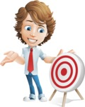 boy cartoon character vector pack - Mark - GraphicMama's bestseller - Target