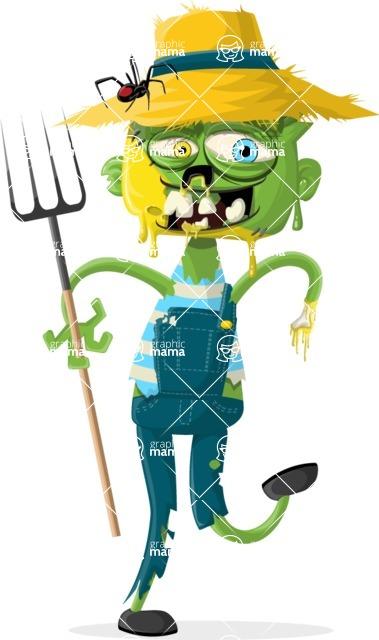 Zombie Vector Graphic Maker - Zombie farmer