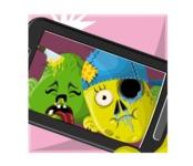 Zombie Vector Graphic Maker - Zombies taking selfie
