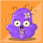 Zombie Vector Graphic Maker - Cute stinky zombie