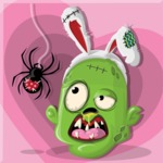 Zombie Vector Graphic Maker - Zombie loves spiders