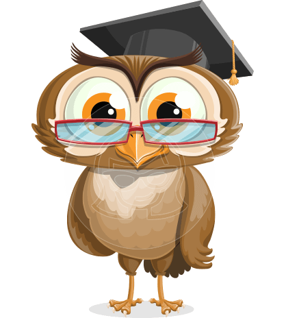 vector owl character illustration ultimate pack